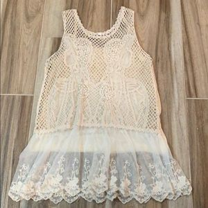 Other - Girls crochet top💕